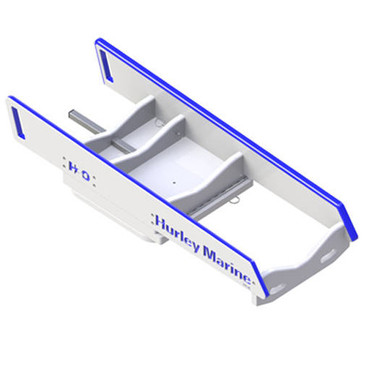 Hurley H3O  Dinghy Davit with Manual Winch