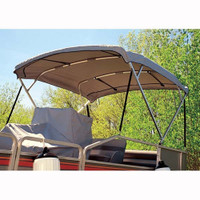"Taylor Made Deluxe Pontoon Bimini 96""W x 56""H x 8'L  FRAME ONLY  601325"