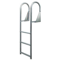 JIF Marine Hinged Dock Ladder 3, 4, or 5 step  DJW3 DJW4 DJW5