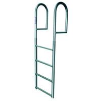 JIF Marine 4-Step Aluminum Stationary Ladder  DJV4