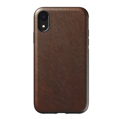 Nomad Horween Leather Rugged Case iPhone XR - Rustic Brown