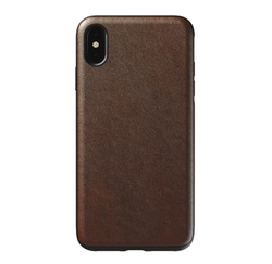 Nomad Horween Leather Rugged Case iPhone Xs Max- Rustic Brown