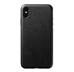 Nomad Horween Leather Rugged Case iPhone Xs Max - Black