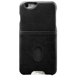 Vaja Grip ID Leather Case iPhone 6/6S - Black