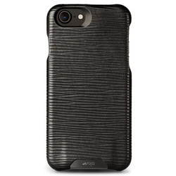 Vaja Grip Leather Case iPhone 7 - Legno Nero