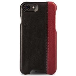 Vaja Grip LP Leather Case iPhone 7 - Bridge Black/Bridge Chili