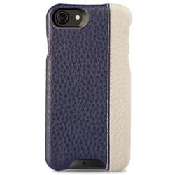 Vaja Grip LP Leather Case iPhone 7 - Floater Crown Blue/Floater Latte