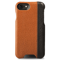 Vaja Grip LP Leather Case iPhone 7 - Floater Crown Blue/Floater Latte