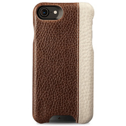 Vaja Grip LP Leather Case iPhone 7 - Durango/Floater Latte