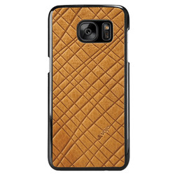 Vaja Leather Shell Case Samsung Galaxy S7 - London Foglie