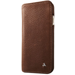 Vaja Wallet Agenda Leather Case iPhone 7 - Bridge Pinecone/London