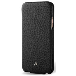 Vaja Top Leather Case iPhone 7 - Floater Black