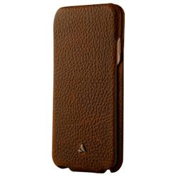 Vaja Top Leather Case iPhone 7 - Durango/Birch