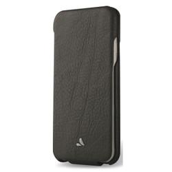 Vaja Top Leather Case iPhone 7 - Bridge Charcoal