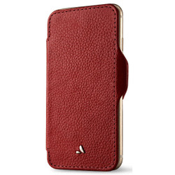 Vaja Nuova Pelle Leather Case iPhone 7 - Verygrain Chili