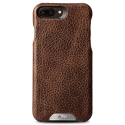 Vaja Grip Leather Case iPhone 7+ Plus - Durango/Birch