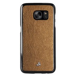 Vaja Leather Wrap Case Samsung Galaxy S7 - Old Gold