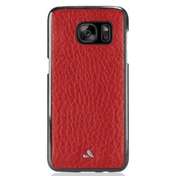 Vaja Leather Wrap Case Samsung Galaxy S7 - High Risk Red