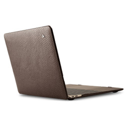 "Vaja Leather Suit Case MacBook Pro 15"" Touch Bar - Dark Brown"