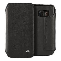 Vaja Leather Agenda Case Samsung Galaxy S7 - Deertan Black