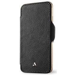 Vaja Nuova Pelle Leather Case iPhone 7+ Plus - Verygrain Black