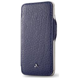 Vaja Nuova Pelle Leather Case iPhone 7+ Plus - Floater Crown Blue