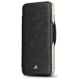 Vaja Nuova Pelle Leather Case iPhone 7+ Plus - Legno Nero