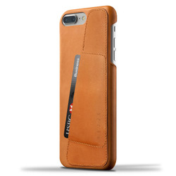 Mujjo Leather Wallet Case iPhone 8+/7+ Plus - Tan