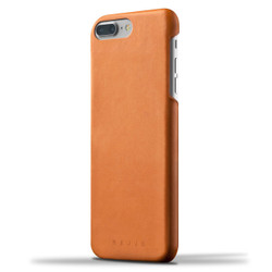 Mujjo Leather Case iPhone 8+/7+ Plus - Tan