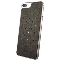 Vaja Leather Back Case iPhone 7+ Plus - Bridge Charcoal