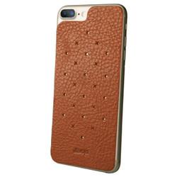 Vaja Leather Back Case iPhone 7+ Plus - Bridge Saddle Tan