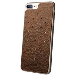 Vaja Leather Back Case iPhone 7+ Plus - Durango