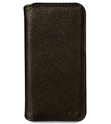 Vaja Wallet ID Leather Case iPhone 7 - Verygrain Black