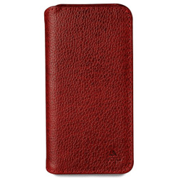 Vaja Wallet ID Leather Case iPhone 7 - Verygrain Chili