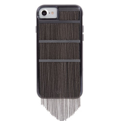 Case-Mate Fringed Metal Case iPhone 7/6/6S - Black