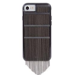 Case-Mate Fringed Metal Case iPhone 7/6/6S - Black