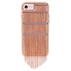 Case-Mate Fringed Metal Case iPhone 7/6/6S - Rose Gold