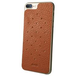 Vaja Leather Back Case iPhone 7 - Bridge Saddle Tan