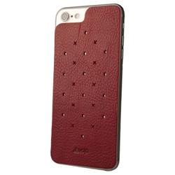 Vaja Leather Back Case iPhone 7 - Bridge Chili