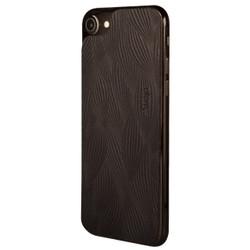 Vaja Leather Back Case iPhone 7 - Foglie Black