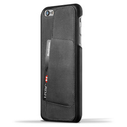 Mujjo Leather Wallet Case 80° iPhone 6+/6S+ Plus - Black