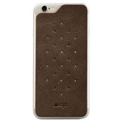Vaja Leather Back Case iPhone 6/6S - Tabaco