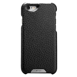 Vaja Grip Leather Case iPhone 6/6S - Black/Rosso