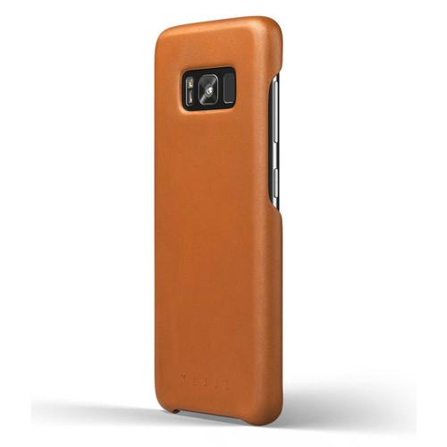 Mujjo Leather Case Samsung Galaxy S8 - Saddle Tan