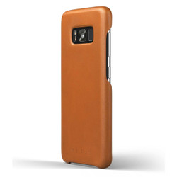 Mujjo Leather Case Samsung Galaxy S8 - Saddle Tan