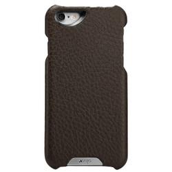 Vaja Grip Leather Case iPhone 6/6S - Dark Brown/Birch