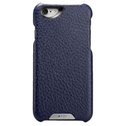 Vaja Grip Leather Case iPhone 6/6S - Crown Blue/True Blue
