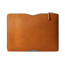 "Mujjo Folio Sleeve Case Macbook Pro and Air 13"" - Tan"