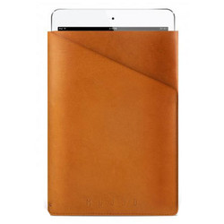 Mujjo Slim Fit Sleeve Case iPad Mini - Tan