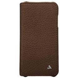 Vaja Wallet Agenda Leather Case iPhone 6+/6S+ Plus - Tabaco
